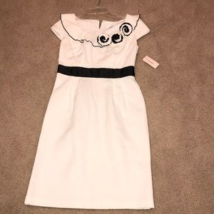 Dress Barn White Sheath Dress